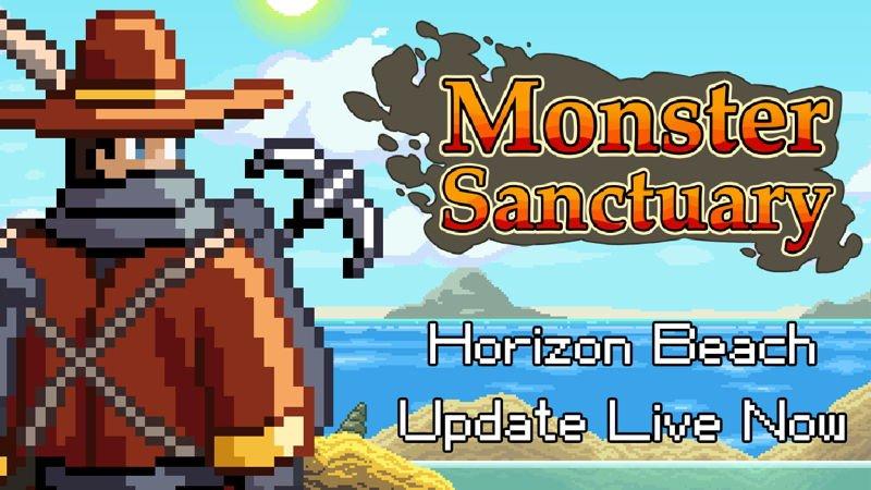 《Monster Sanctuary》改版 – 地平線海灘(Horizon Beach)