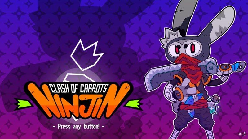 You are currently viewing 可雙打的高速橫向卷軸動作遊戲 – Ninjin: Clash of Carrots(忍兔:胡蘿蔔大戰)