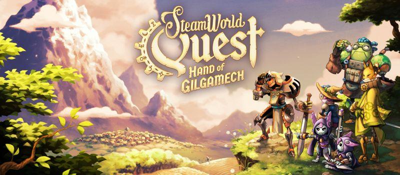 蒸氣風的卡牌組隊RPG – SteamWorld Quest: Hand of Gilgamech