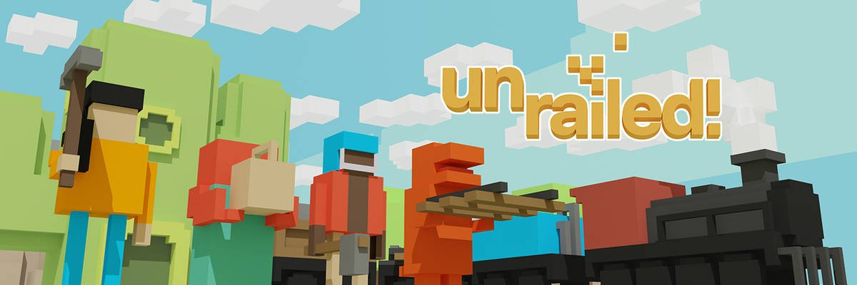 Read more about the article 多人合作併軌,一起忙到併軌! – Unrailed!