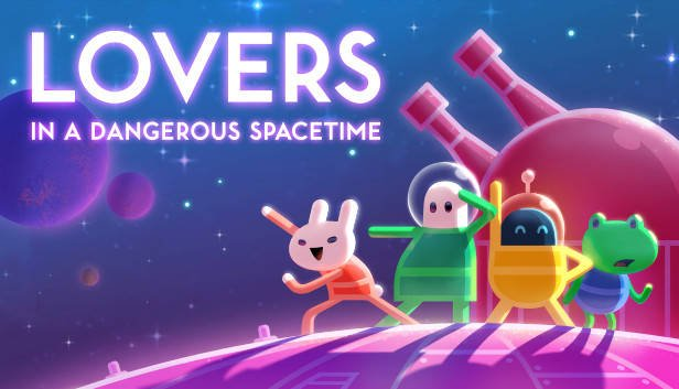 You are currently viewing 前進宇宙!四人合作開太空船 – Lovers in a Dangerous Spacetime(危險時空的戀人)