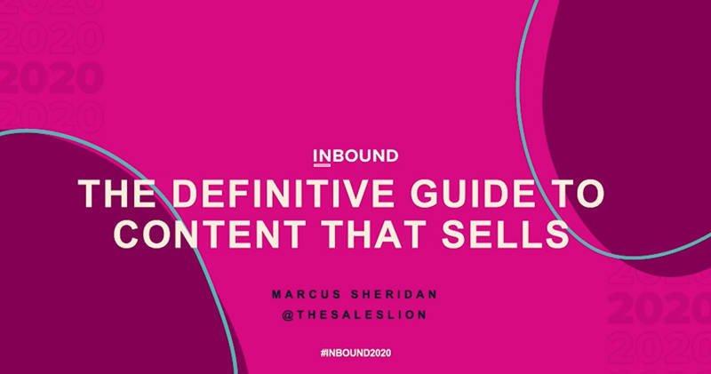 如何產出能幫助銷售的內容?(Hubspot INBOUND 2020 筆記)