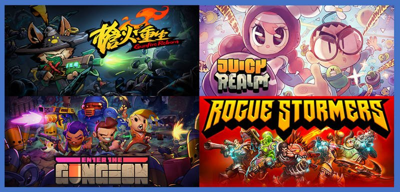 You are currently viewing 【Steam】Roguelike 射擊遊戲的私房推薦清單